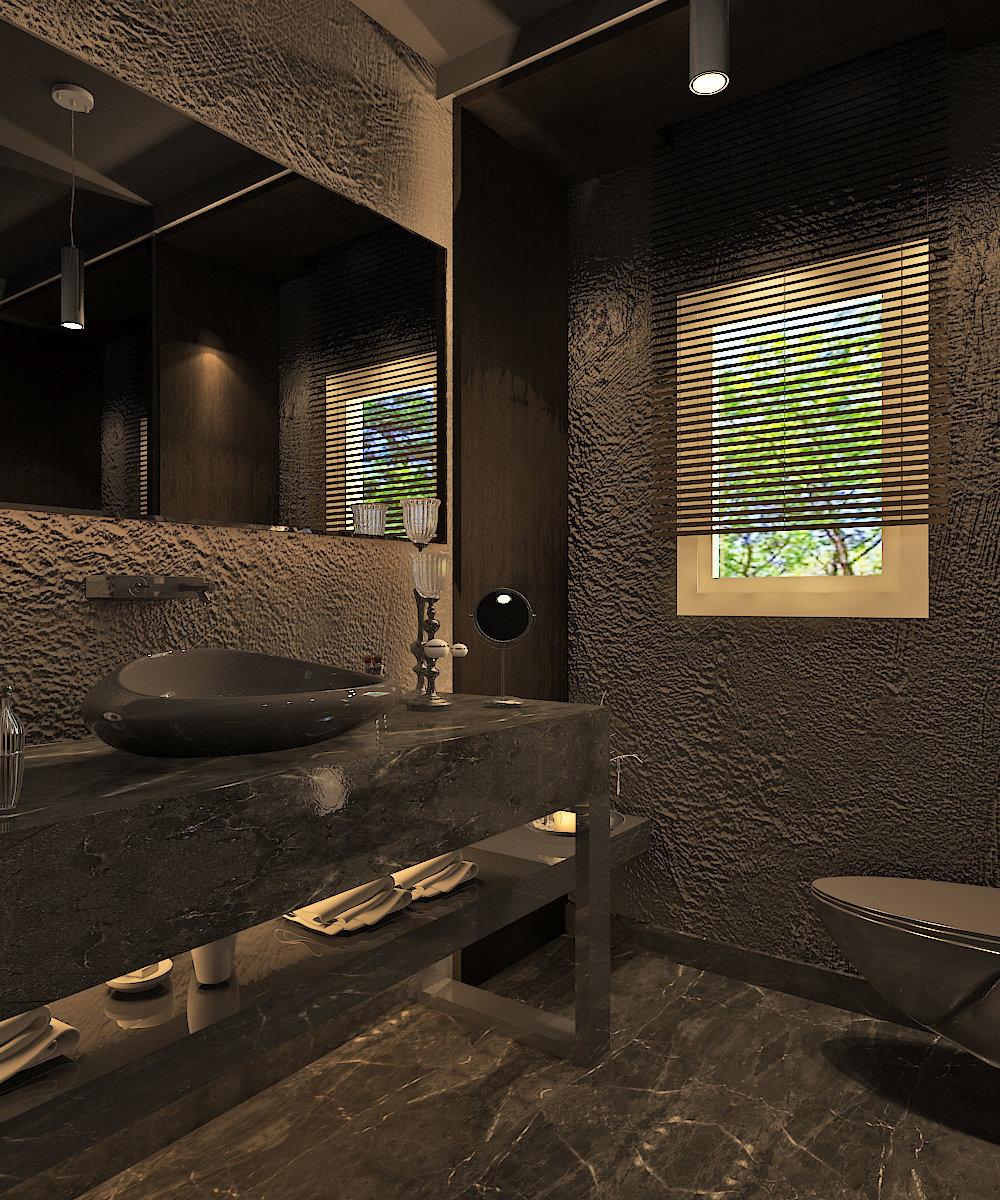x Guest Bathroom