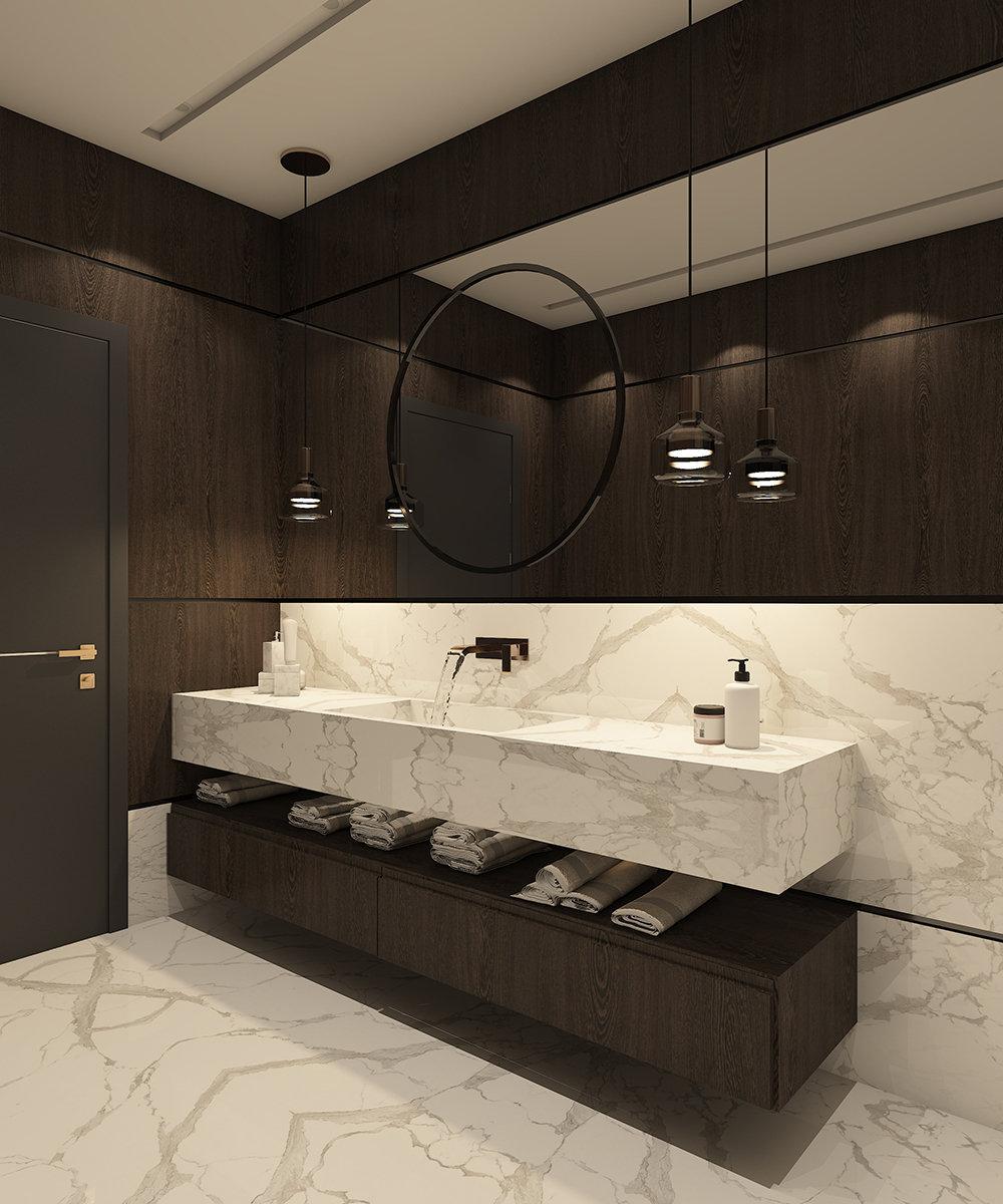 x basement bath